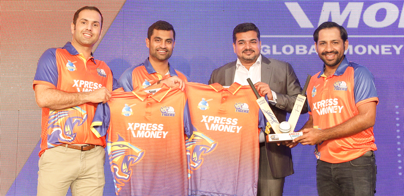 Xpress Money Sponsors the Bengal Tigers Team in the T10 League