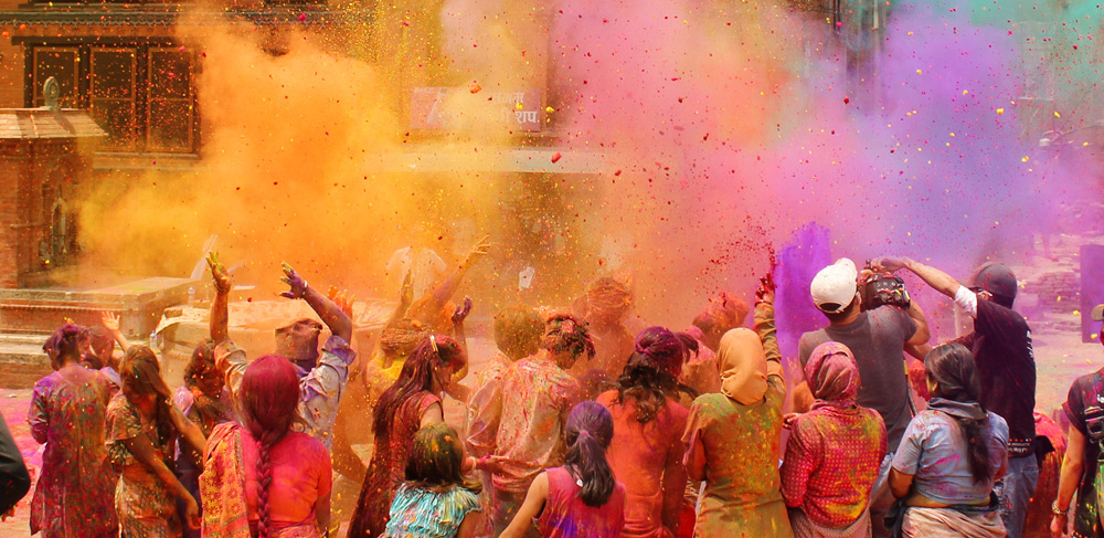 How the most colourful festivals in the world are bringing people together
